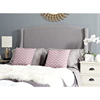 Safavieh Headboard Collection Austin Headboard, Full, Light Grey