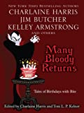 Many Bloody Returns, , 1597227072