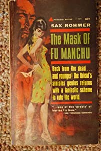 Paperback THE MASK OF FU MANCHU Book