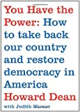 You Have the Power, Howard Dean, 0743291492