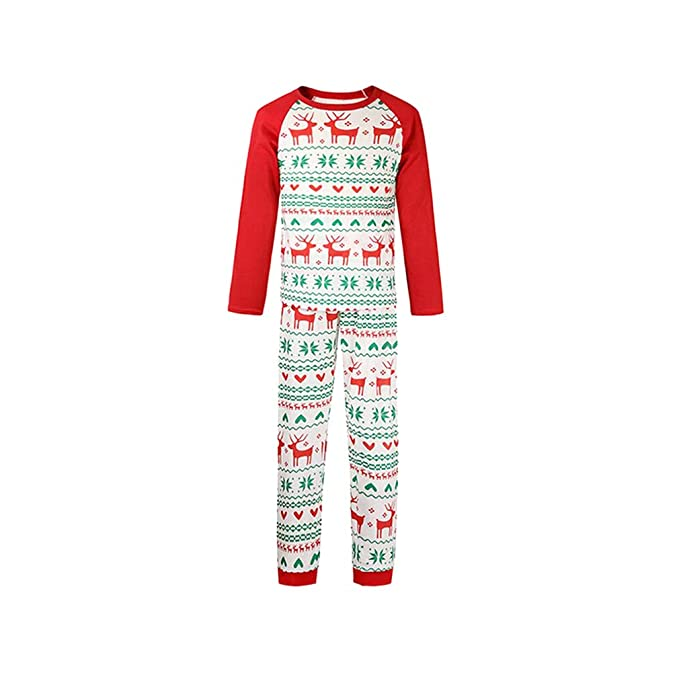 b56e360ea WEIMEITE Family Christmas Pijamas Family Matching Clothes Año X-mas Pjs  Family Look Madre e Hija Padre Ropa para bebés  Amazon.es  Ropa y accesorios