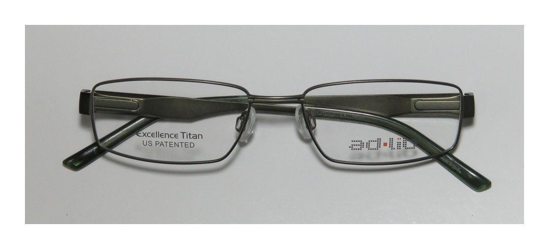 Ad.lib 3128 Mens/Womens Designer Full-rim Titanium Eyeglasses/Glasses (51-17-140, Green)
