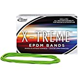 Alliance X-treme File Rubber Bands, 0.125 x 7 Inches, Lime, 175 per 1 lb Box (02005)