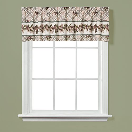 Valance Pinecone (Saturday Knight Pinecone Plaid Valance)