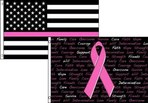 Moon Knives 3x5 USA Thin Pink Line Breast