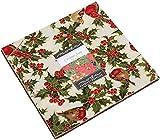 Cardinal Song Metallic Layer Cake 42 10-inch Squares Moda Fabrics 33420LCM