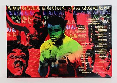 Muhammad Ali Signed 31×45 Steve Kaufman Art AP 23/25 - ()