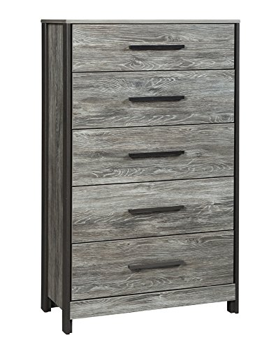 Signature Design by Ashley B227-46 Cazenfeld Chests of Drawers/Bureaus, Black/Gray