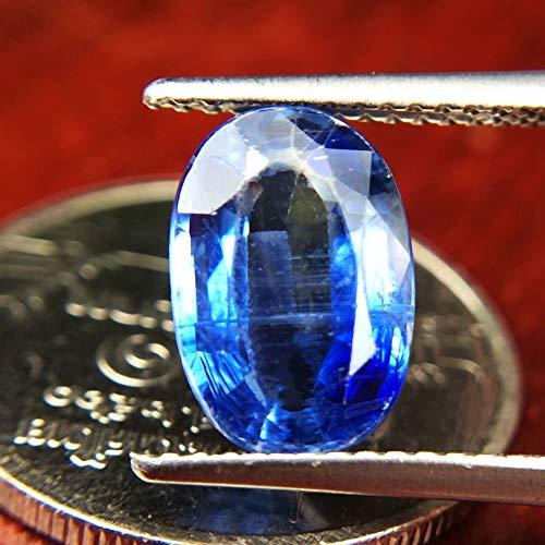 Lovemom 2.86ct Natural Oval Unheated Blue Kyanite Sri-Lanka #R by Lovemom (Image #1)