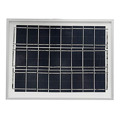 12V 4W Polycrystalline A-Class Solar Panel System For Home Garden - Electrical Equipment & Supplies Generator & Supplies -1 x Solar Panel by Unknown