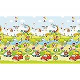 JTI - PARKLON BABY SOFT PLAY MAT LARGE - ZOOM ZOOM CAR SOFT NON TOXIC PLAY MAT (210X140X1.2cm)