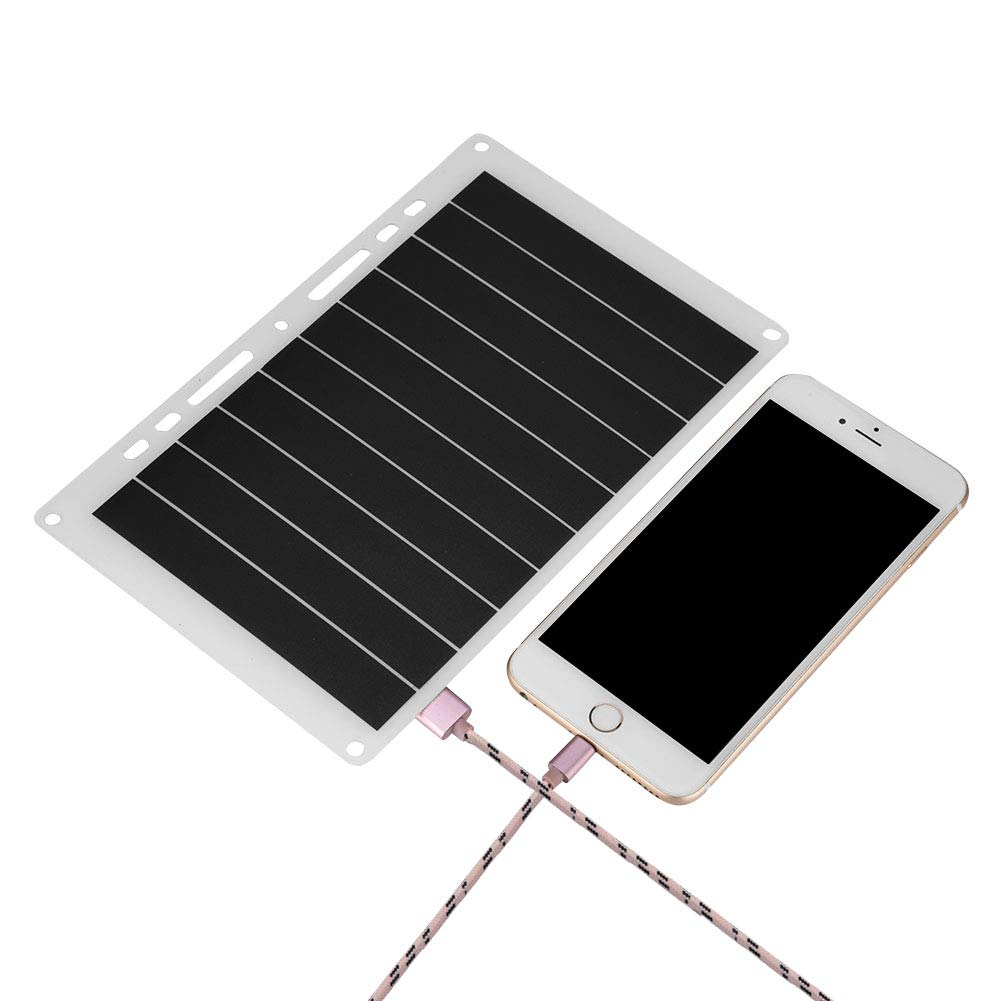 Richer-R Solar Panel, Portable 10W 2000mAh USB Solar Panel Mobile Power Charger Outdoor Charging Board Phone