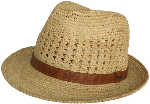 (Christys of London Premium Raffia Fedora Hand Woven Hat)