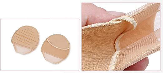kaki Healifty Pads Paire de coussinets de pieds ultra-doux pour avant-pied Invisible /éponge Prot/ège-chaussures