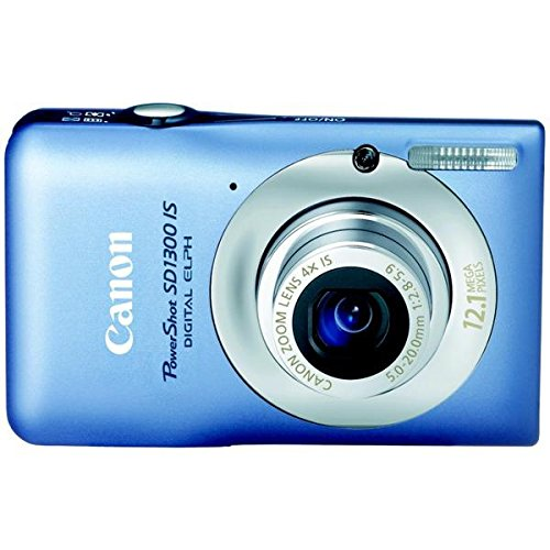 (Canon PowerShot SD1300 IS 12.1 Megapixel Digital Camera with 4X Optical Zoom and 2.7 inch LCD -)