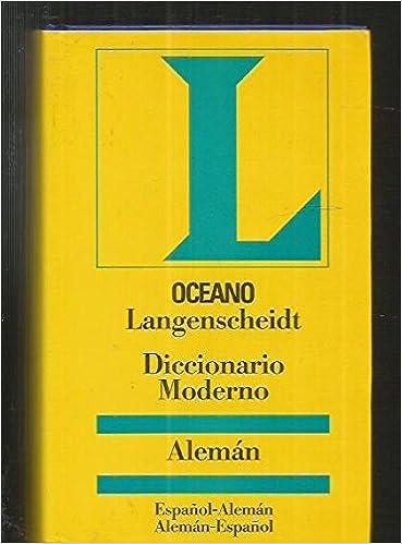 Diccionario moderno aleman (spanish edition): langenscheidt.