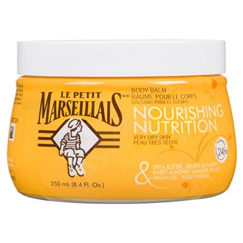 Le Petit Marseillais Shea Butter, Sweet Almond & Argan Oil Nourishing Body Balm, 8.4 Fl. Oz.
