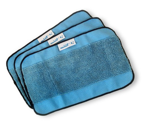Microfiber 3 Pack Pro Clean Mopping Cloths