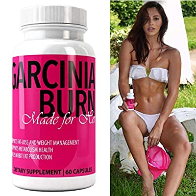 GARCINIA BURN Made For Her 100% Pure GARCINIA CAMBOGIA EXTRACT Best Diet Pills with Pure HCA   #1 Premium Best All Natural New & Improved Fat Loss Formula for Weight Loss   Made in the USA