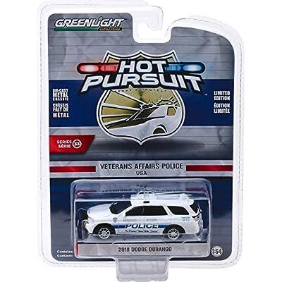 Greenlight 42900-F Hot Pursuit Series 33-2020 Dodge Durango - Veterans Affairs Police 1:64 Scale: Toys & Games