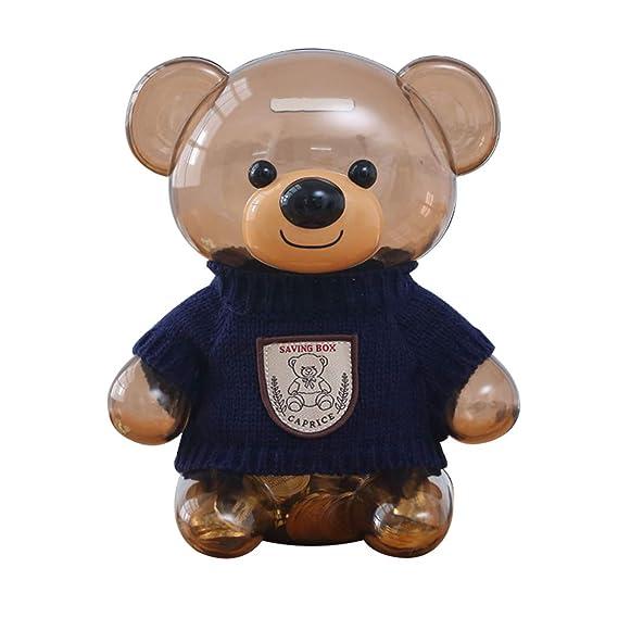 Amazon com: B bangcool Coin Bank Creative Cute Bear Money Saving
