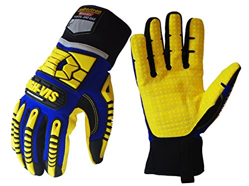 Seibertron HIGH-VIS SDXW Cold Weather Condition Oil and Gas Waterproof Safety Working Gloves XL Working Condition