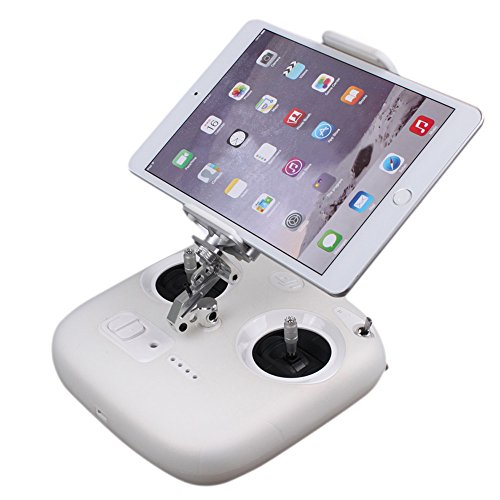 Phone Pad Metal Holder for DJI Phantom 3, Elevin(TM) Extender Mount Bracket Holder for DJI Phantom 3 Standard 3.5-10 Tablet Mobile