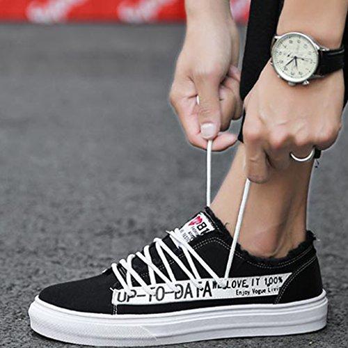 ... YaNanHome Chaussures Bateau Chaussures Homme Été Nouveau Style Toile  Chaussures Hommes Chaussures Style Coréen Tendance Loisirs ... 47dd0623261e