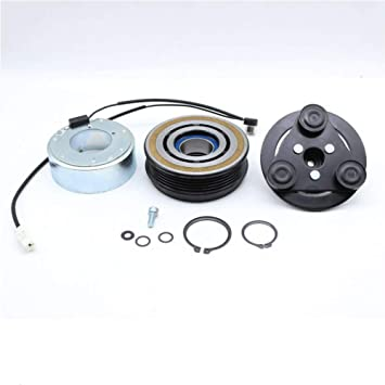 Plate Bearing Coil Pulley For 2006-2009 Dodge Ram A//C AC Compressor Clutch KIT