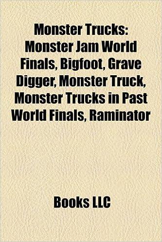 Monster trucks: Monster Jam World Finals, Grave Digger ...