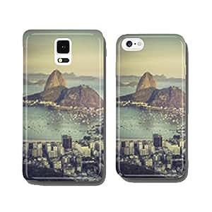 Sunset over Botafogo Bay in Rio de Janeiro cell phone cover case Samsung S5