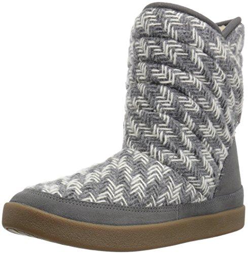 Sanuk Women's Big Bootah Winter Boot Grey Arrowooly
