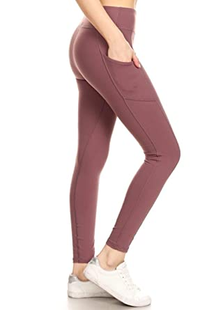 6a5c4669e5 Leggings Depot High Waisted Leggings -Soft & Slim - Solid Colors & 1000+  Prints