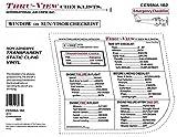 Thru-View Emergency Checklist - Cessna 182 - Carbureted