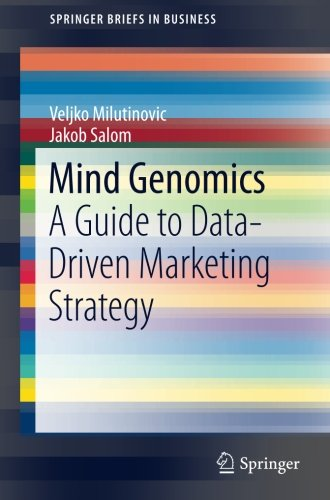 Mind Genomics: A Guide to Data-Driven Marketing Strategy (SpringerBriefs in Business)