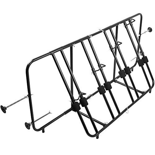Apex TBBC-4 4-Bike Pickup Truck Bed Bicycle Rack