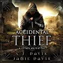 Accidental Thief: LitRPG Accidental Traveler Adventure, Book 1 Audiobook by Jamie Davis, C.J. Davis Narrated by Roberto Scarlato