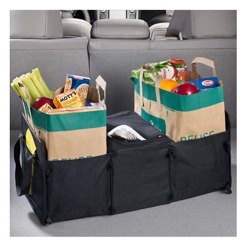 High Road Expandable Trunk Organizer with Cooler Compartment High Road Organizers HR-5523-05