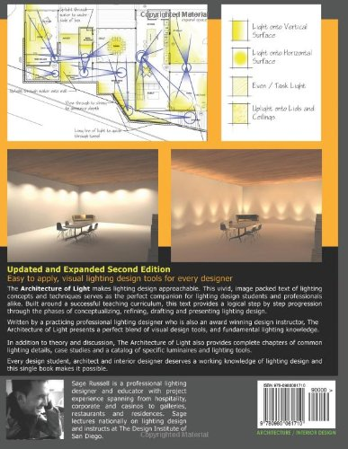 The Architecture Of Light 2nd Edition A Textbook Procedures And Practices For Architect Interior Designer Lighting