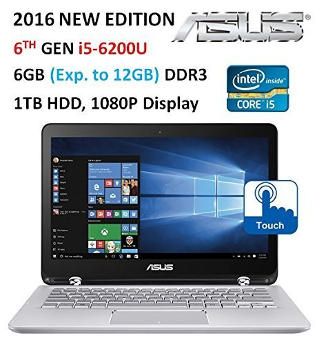 Asus  High Performance 2-in-1 Convertible Laptop PC, 13.3? F