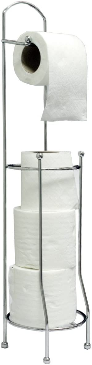 Betterware Free-Standing Toilet Roll Holder For Easier Storage