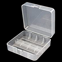 Soshine 2x 26650 Battery Hard Plastic Transparency Storage Case Cover Holder
