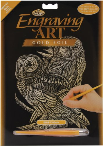 Engraving Royal Art (Royal and Langnickel Gold Engraving Art, Owls)