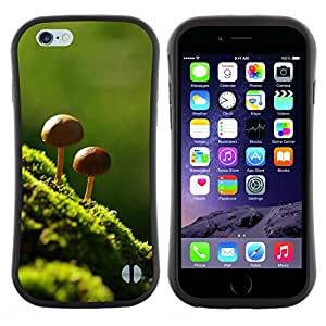 "Hypernova Slim Fit Dual Barniz Protector Caso Case Funda Para Apple (4.7 inches!!!) iPhone 6 / 6S (4.7 INCH) [Naturaleza Hermosa Forrest verde 8""]"