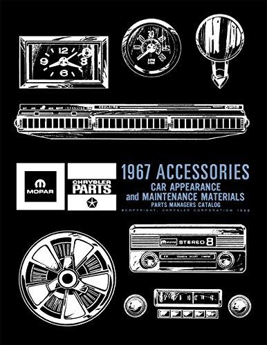 Mopar Parts Catalog - 1967 MoPar Accessories Parts Catalog Reprint