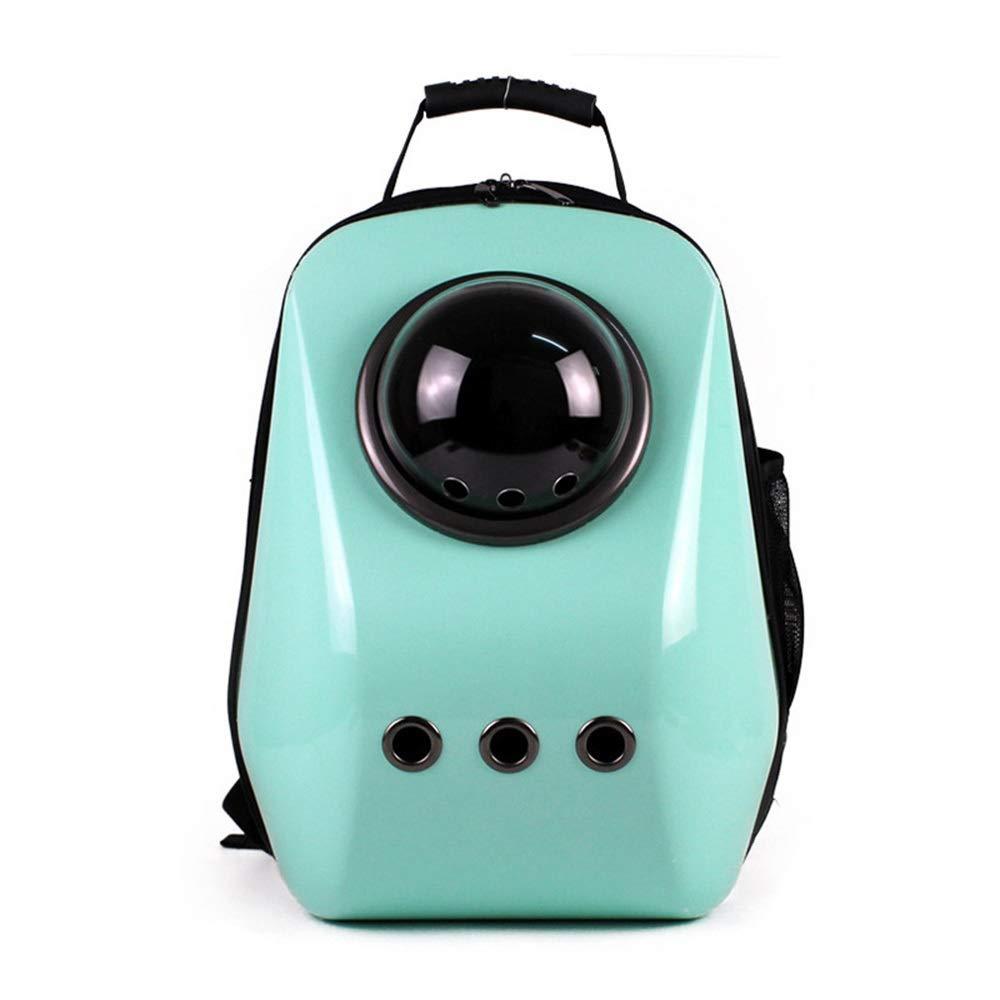 Green 47CM29CM35CM Green 47CM29CM35CM HOUYAZHAN Space Pet Cabin Bag Out Portable Breathable Dog Cat Backpack (color   Green, Size   47CM29CM35CM)