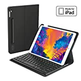 Smart Keyboard for Apple iPad Pro 10.5 with Smart Connector/Backlit/Apple Pencil Holder/Smart Auto Sleep-Wake for iPad Pro 10.5-inch Tablet - MFi Certified (Black)