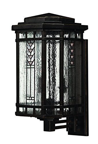 Hinkley 2244RB Transitional Four Light Wall Mount from Tahoe collection in (Bronze Tahoe Transitional Wall)