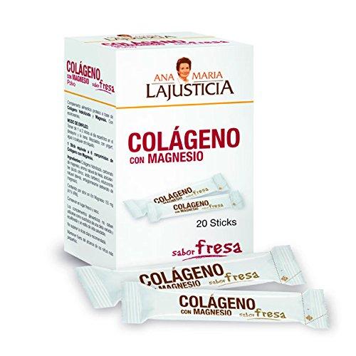Ana María Lajusticia Colageno con Magnesio - 20 sticks: Amazon.es: Alimentación y bebidas