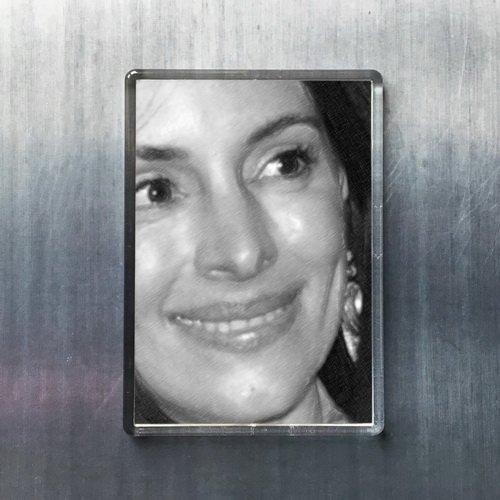 Seasons Madeleine Stowe - Original Art Fridge Magnet #js001